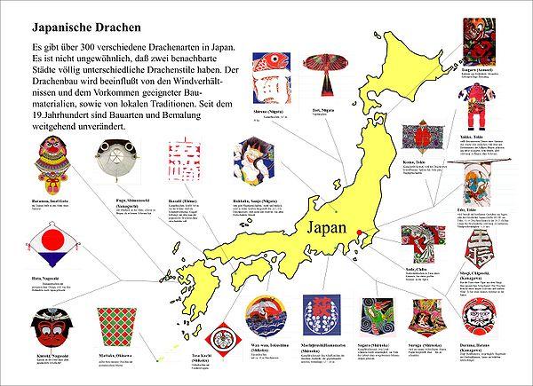 Japan Uebersicht